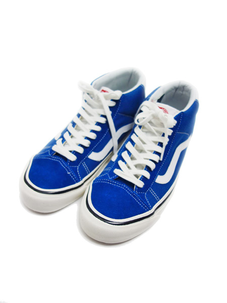 VANS (ANAHEIM) MID SKOOL 37 DX BLUE
