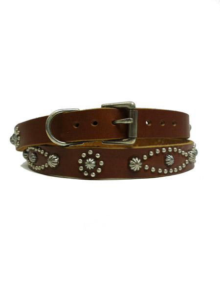 STUDS BELT 53 NO PATCH UMBRELLA 0.75 L.BROWN