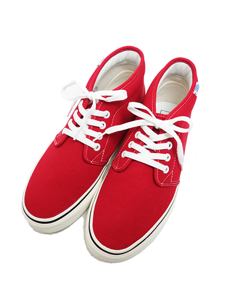 VANS CHUKKA RETRO JAPAN LIMITED RED