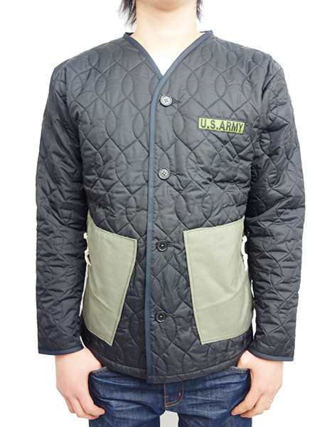 JOHN'S SURF QUILTING JACKET BLACK