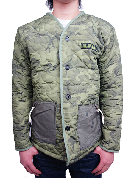 JOHN'S SURF QUILTING JACKET CAMO