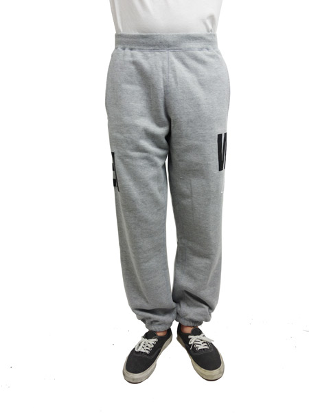 WIND AND SEA SWEAT PANTS A GRAY