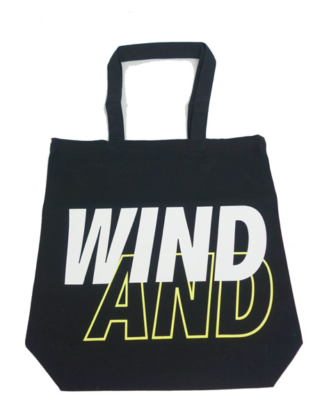 WIND AND SEA TOTE BAG A BLACK