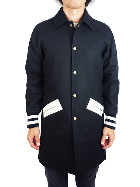 Birvin Uniform Long Award Jacket Navy
