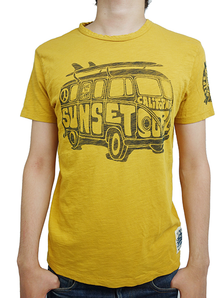 SUNSET SURF by JOHNSON MOTORS Inc. SURF BUS SAND YELLOW