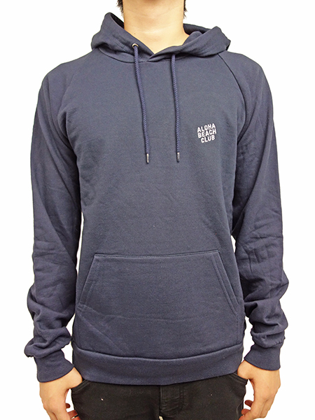 ALOHA BEACH CLUB BREAKERS HOODED SWEATSHIRT NAVY