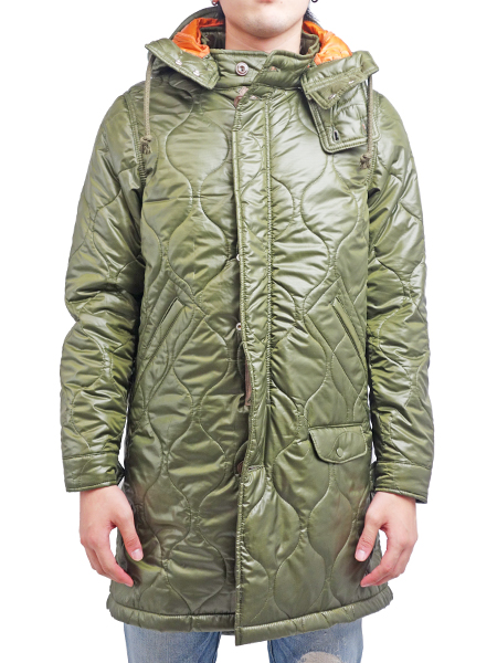 SEVESKIG LIGHT QUILT WARM M-51 KHAKI