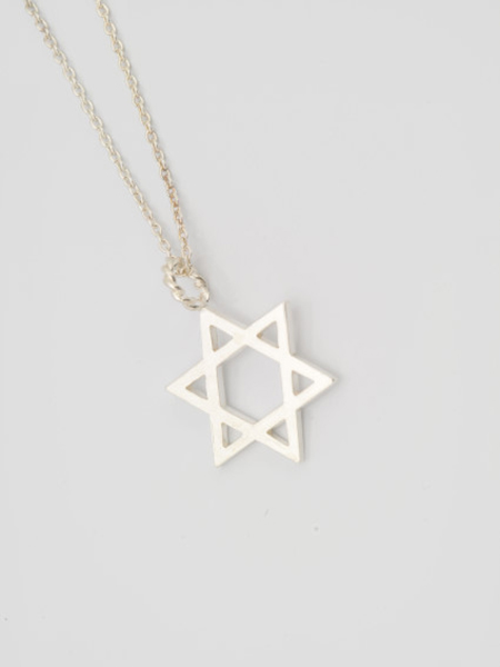 EDF Hexagram Necklace L