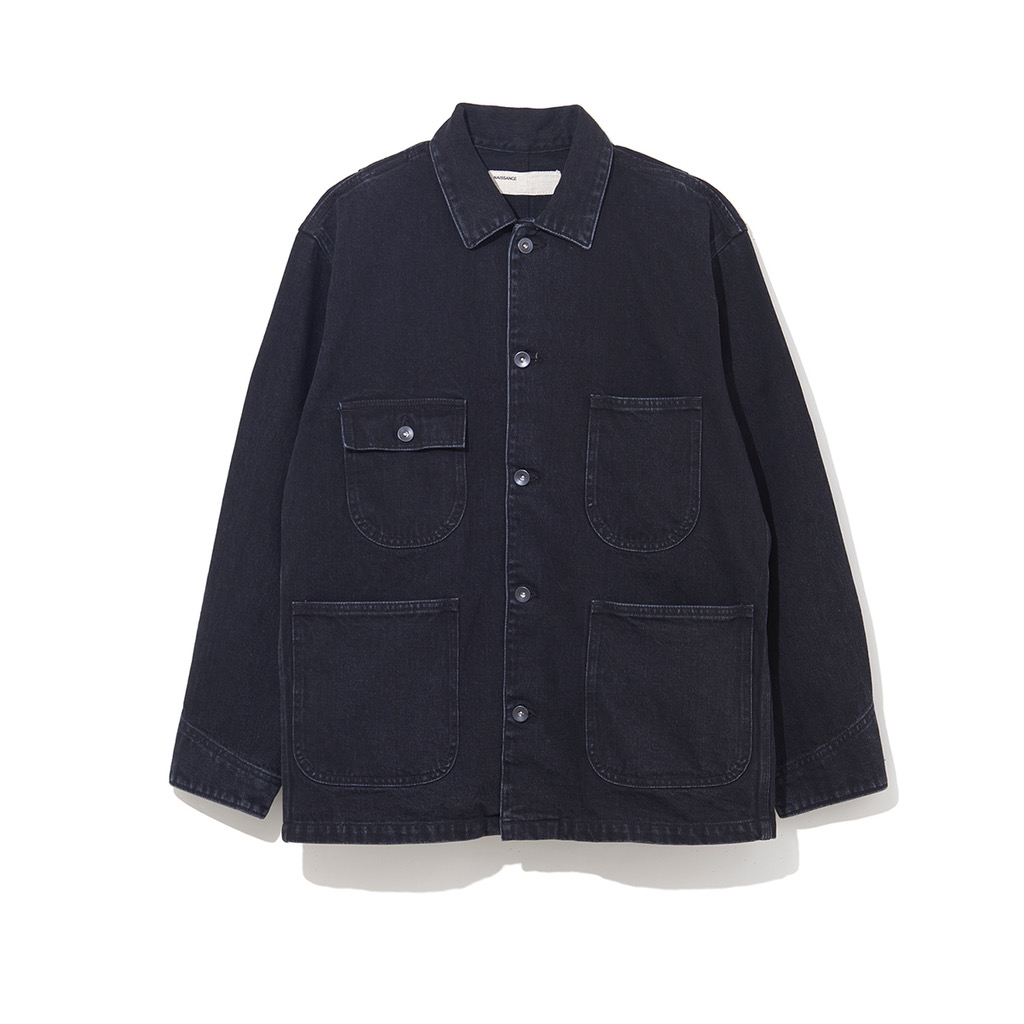 NAISSANCE WORK JACKET BLACK