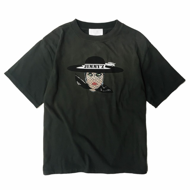 JIMMY'Z VEILED LADY TEE BLACK