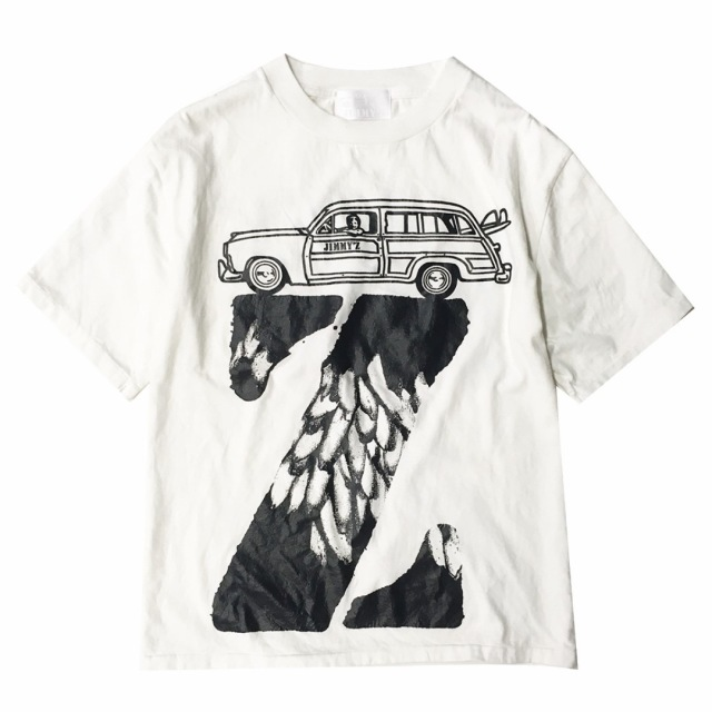 JIMMY'Z BANANA Z TEE WHITE