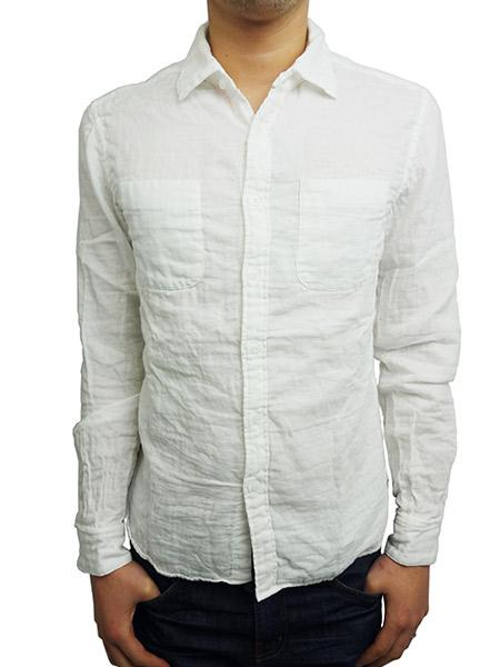 Battalion Gauze Shirt WHITE