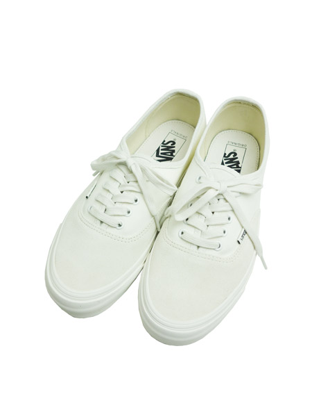 VANS VAULT OG AUTHENTIC LX (SUEDE/CANVAS) EGRET/CLOUD DANCER