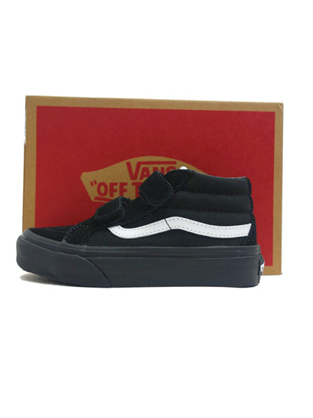 VANS KIDS Canvas Suede SK8-Mid Reissue V BLACK