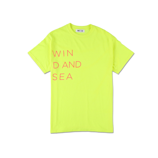 WIND AND SEA T-SHIRT GLITTER