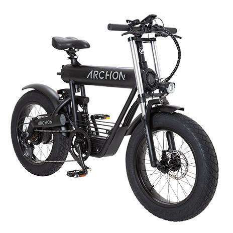 『ARCHON』電動自転車フルサスペンションモデル