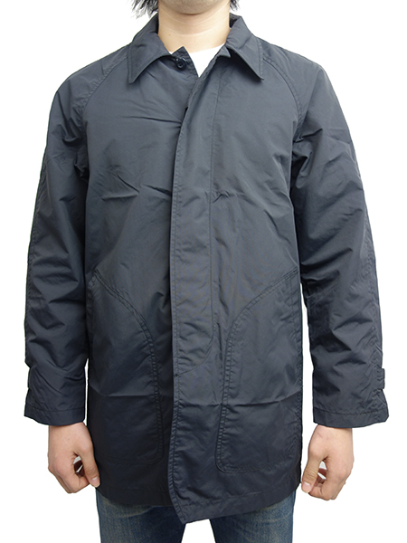 HIDE AND SEEK Nylon Coat BLACK