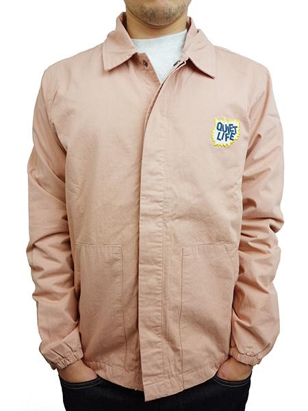 THE QUIET LIFE Lichtenstein Garage Jacket PINK