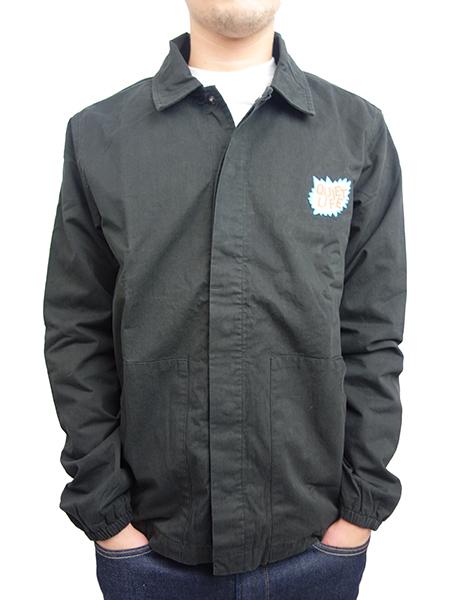 THE QUIET LIFE Lichtenstein Garage Jacket BLACK