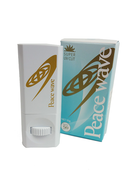 PEACE WAVE UV FACE STICK CLEAR