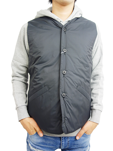 BLUEY INSULATED INNER VEST BLACK