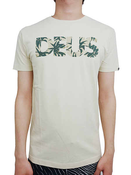 Deus ex Machina BAMBOOZLED CAPS TEE OFF WHITE