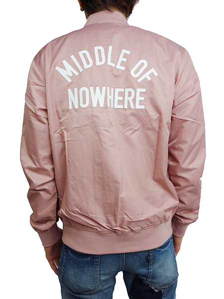 THE QUIET LIFE Middle Of Nowhere Satin Jacket Mauve