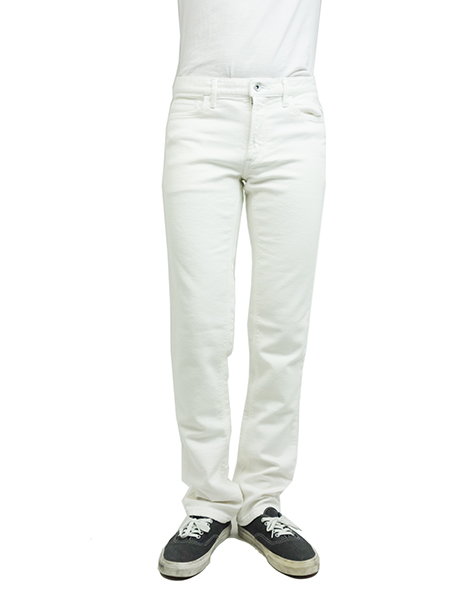 Battalion Color Sweat Jeans WHITE