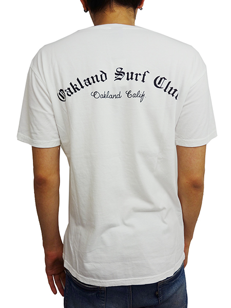 OAKLAND SURF CLUB LOWRIDER TEE WHITE