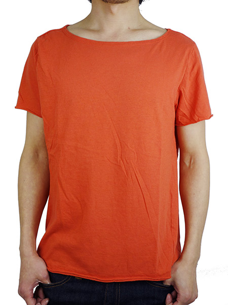 LIFE IS.... FLAT NECK TEE RED