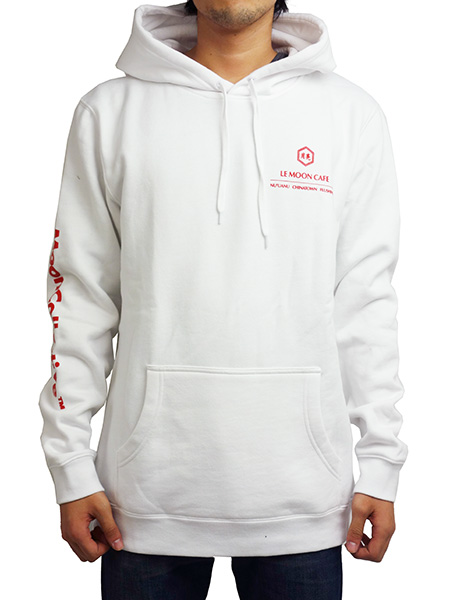 Monn Collective LONG LIFE HOODIE WHITE