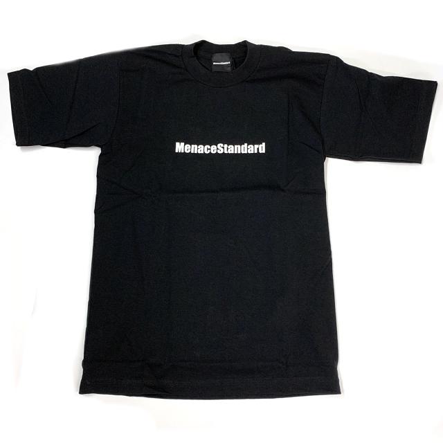 MenaceStandard S/S TEE LOGO BLACK