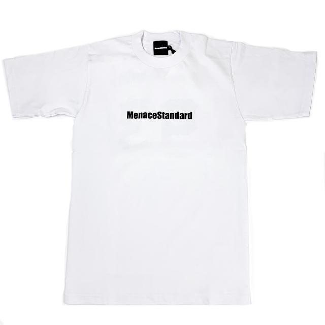 MenaceStandard S/S TEE LOGO WHITE