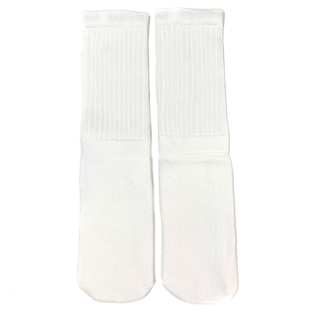 SKATER SOCKS 14Inch WHITE