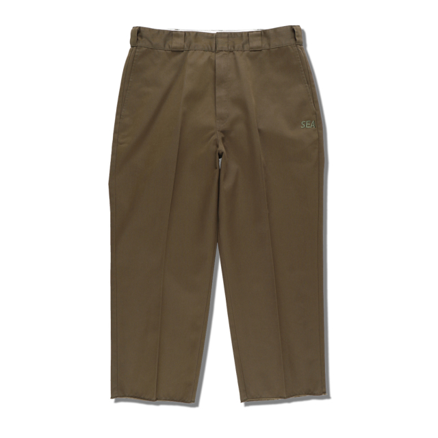 WIND AND SEA × DICKIES WORK TROUSERS OLIVE