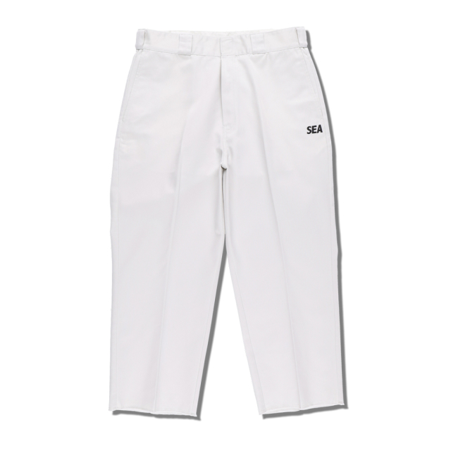 WIND AND SEA × DICKIES WORK TROUSERS OFF-WHITE