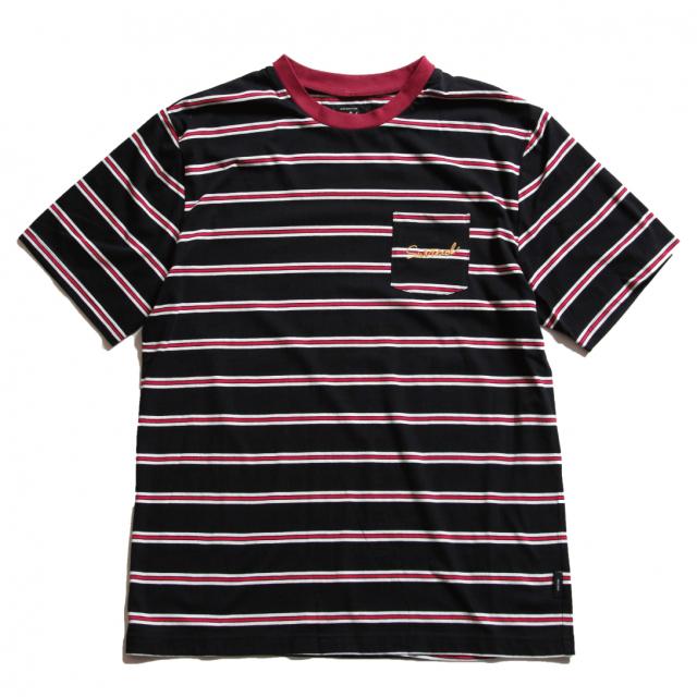 2019SS SurReal GARLAND ボーダーポケットTシャツ