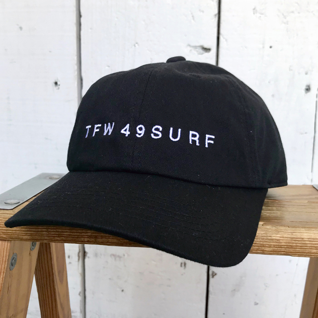 TFW49 - SURF CAP BLACK