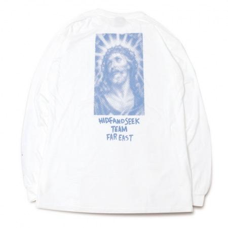 HideandSeek Jesus L/S Tee