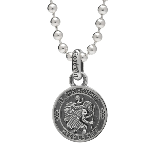 Good Art HLWD SAINT CHRISTOPHER PENDANT