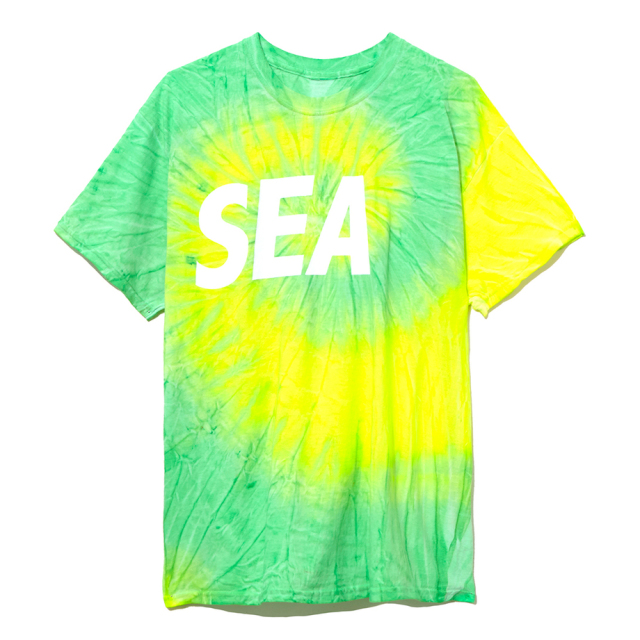 WIND AND SEA T-SHIRT タイダイ Tシャツ 2019