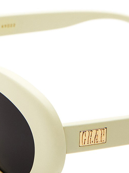 "CRAP EYEWEAR ""The Nudie Mag"" Matte Eggshell White"