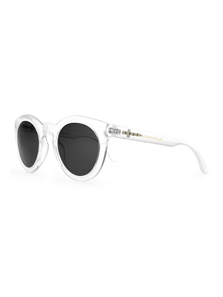 "CRAP EYEWEAR ""The T.V Eye""Gloss Crystal Clear"