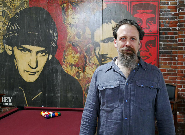 GOOD ART HLYWD グッドアートハリウッド オーナー兼デザイナーのJosh Warner(ジョシュ・ワーナー)