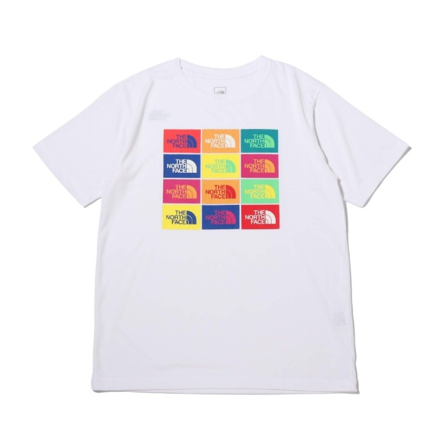 THE NORTH FACE S/S COLORED HALF DOME LOGOS TEE W ショートスリーブカラード ハーフドームロゴス ティー