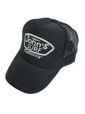 JOHN'S SURF  MESH CAP BLACK/WHITE