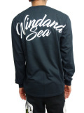 WIND AND SEA LONG SLEEVE CUT-SEWN C BLACK