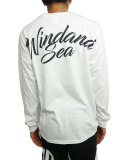 WIND AND SEA LONG SLEEVE CUT-SEWN C WHITE