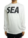 WIND AND SEA LONG SLEEVE CUT-SEWN A WHITE