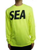 WIND AND SEA LONG SLEEVE CUT-SEWN A YELLOW